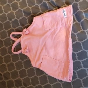 *4 for $15* Pink overalls